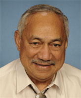 Congressman Eni Faleomavaega. Picture: wiki