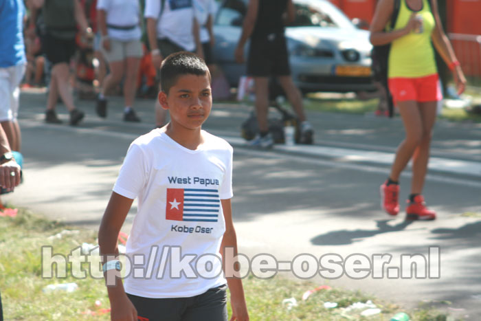 Lorenzo (age 13) walked 120 kilometers untill Day 4 to get his first FourDaysMarches Cross